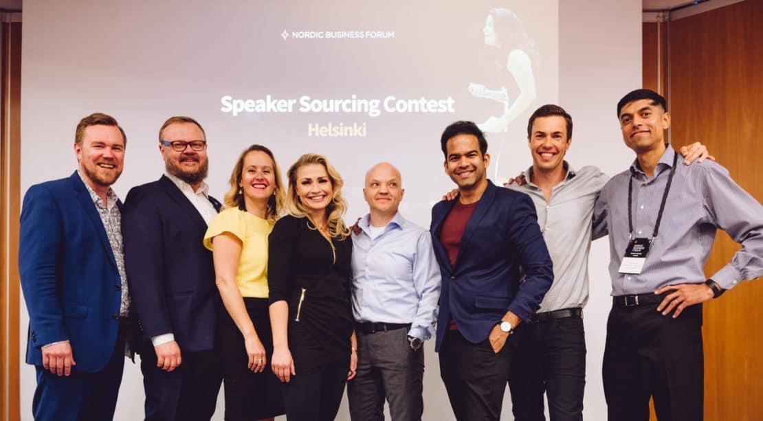 Speaker Sourcing Contest Qualifier Helsinki 2018