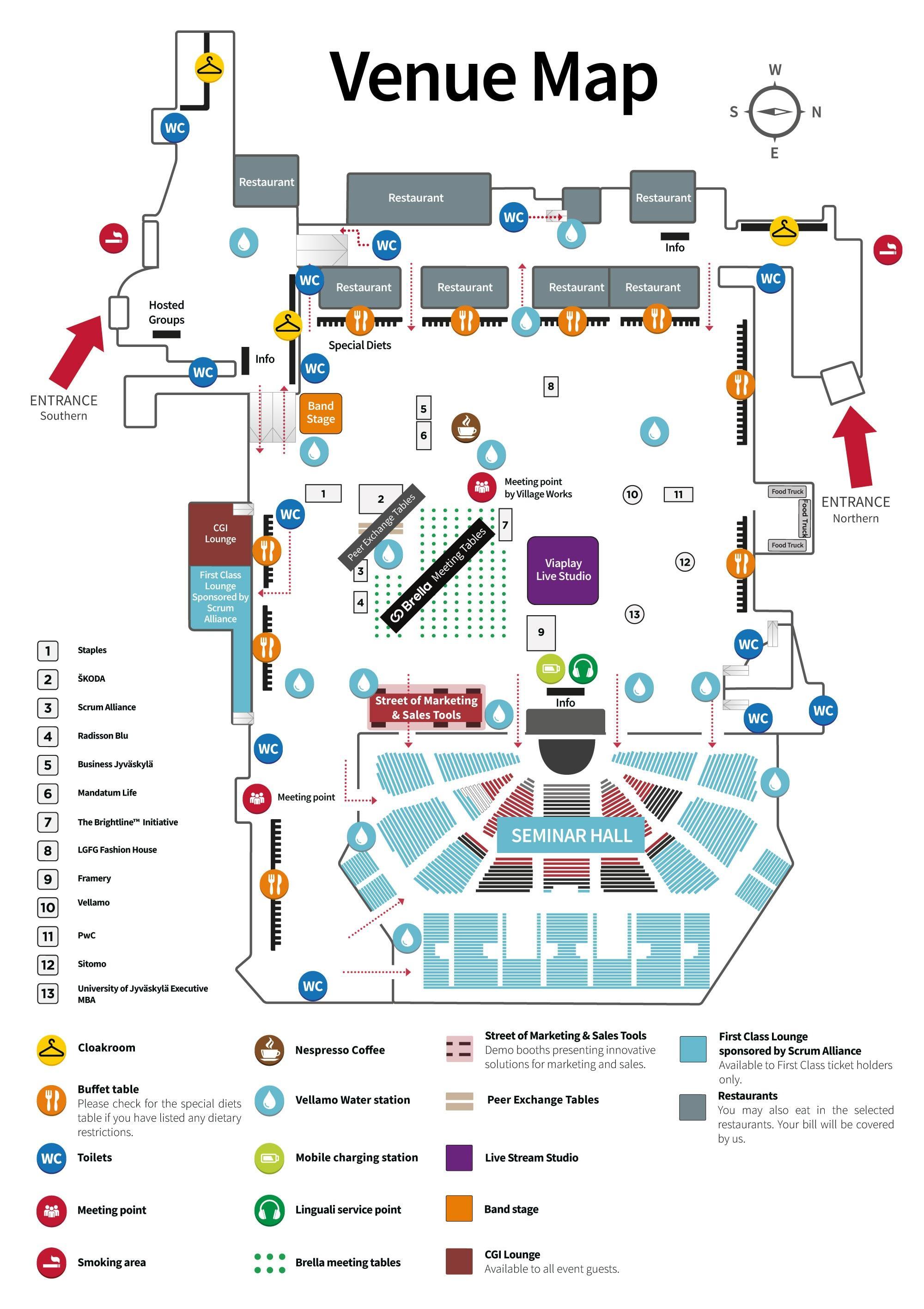 NBF2019 Venue map