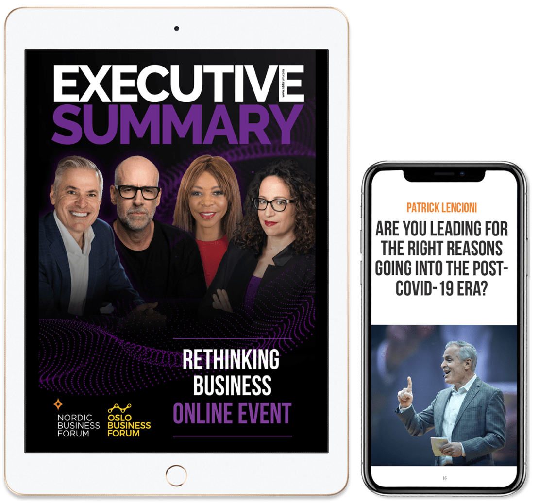 Executive Summary Online Event May 2020