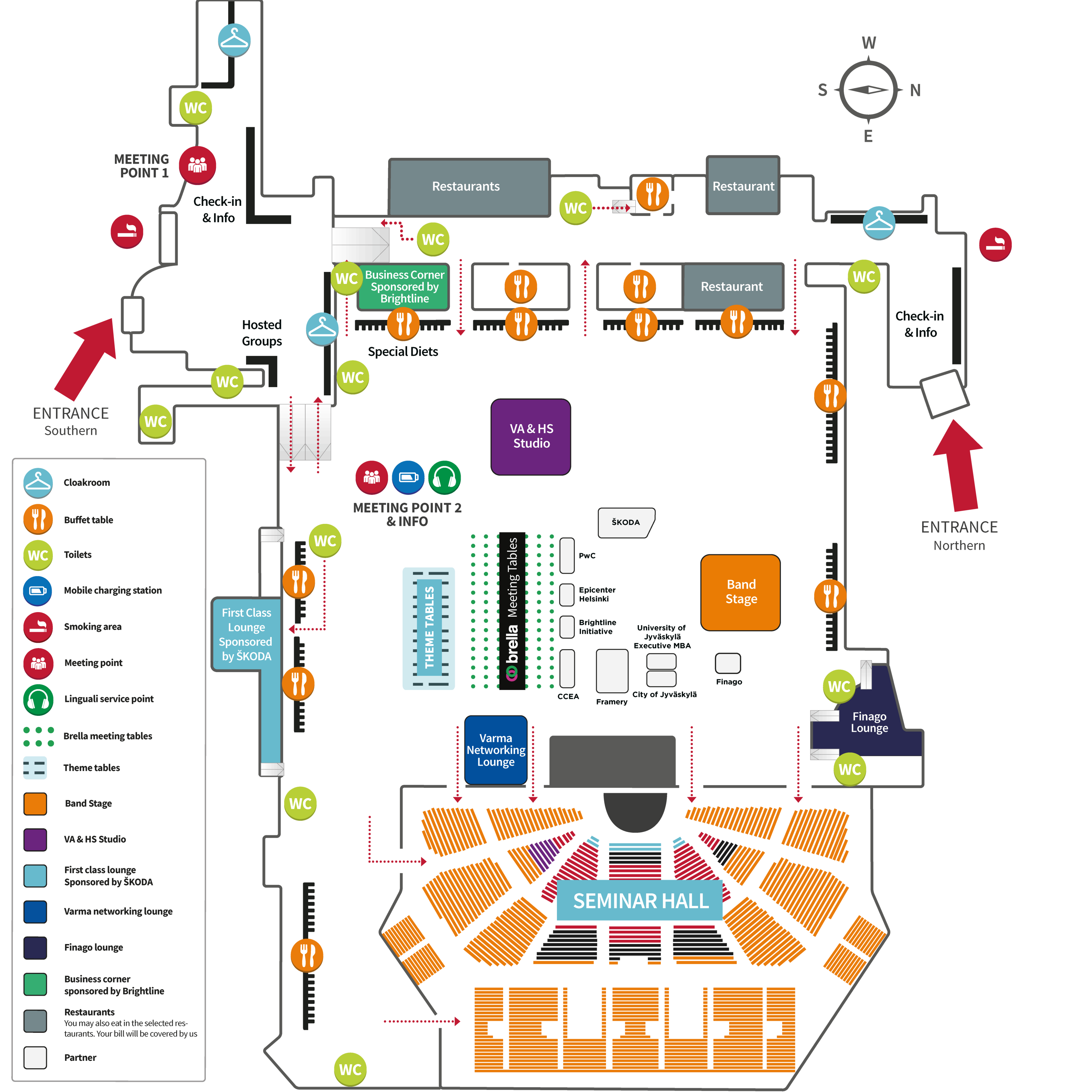 NBF2018 Venue map
