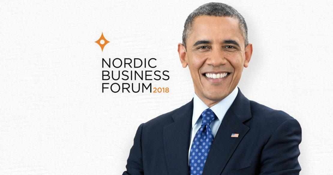 Image result for nordic business forum obama