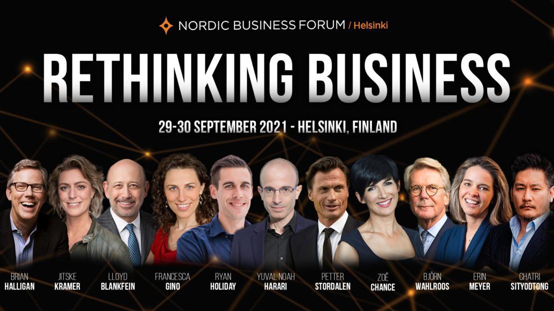 Nordic Business Forum Helsinki