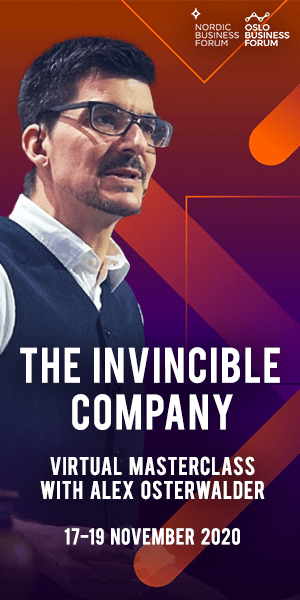Virtual Masterclass with Alex Osterwalder - The Invincible Company