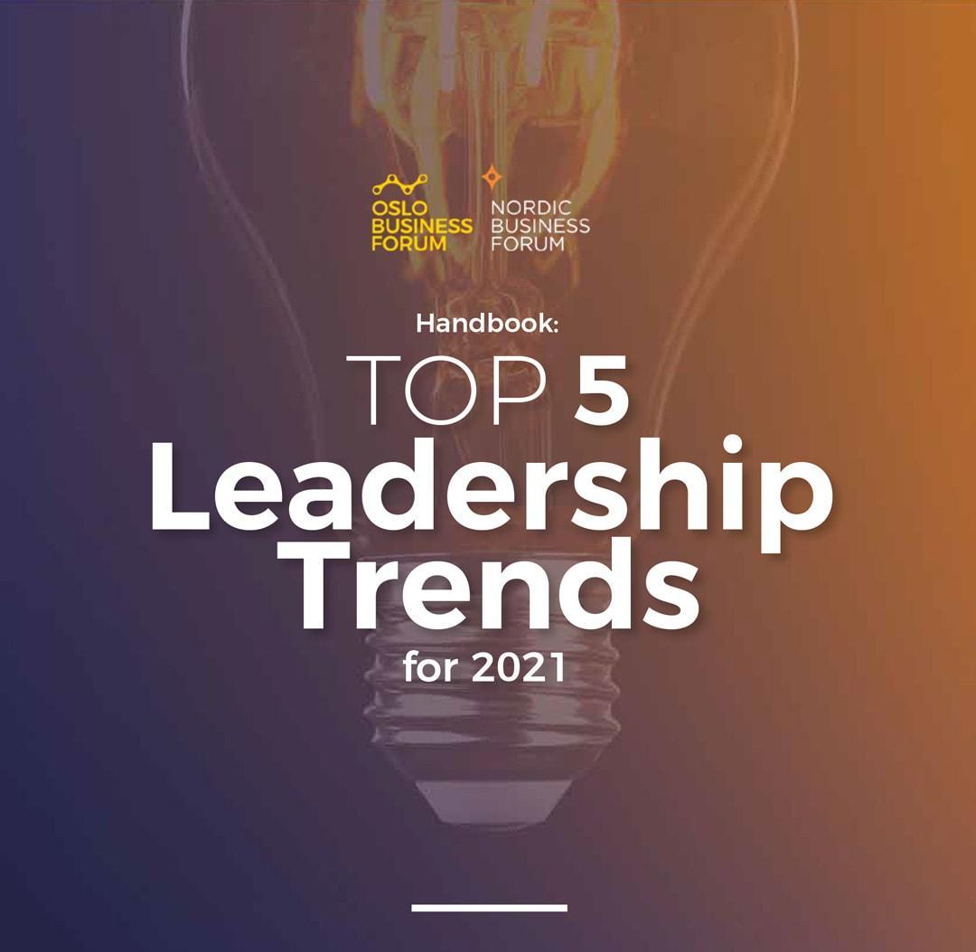 Top 5 Leadership Trends 2021